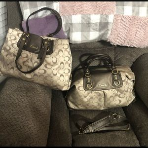 TWO Coach Bags!